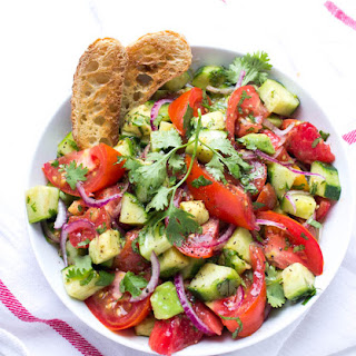 Ultimate Heirloom Tomato Salad.