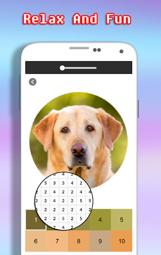Dog Photography Coloring Book - Color By Number android2mod screenshots 4