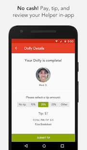 Dolly: Find Movers, Delivery & More On-Demand- screenshot thumbnail