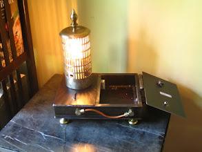 Photo: steampunk lamp