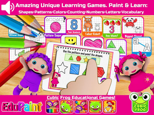 EduPaint Free Learning Games