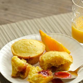 Springtime, and Orange-Strawberry Muffins