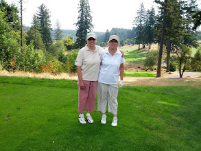 Photo: Jane and Linda at Stone Creek Golf Club
