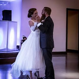 by Jackie Eatinger - Wedding Bride & Groom