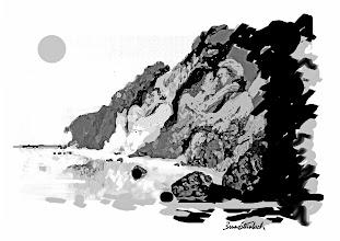 """Photo: GRAVURAS PARAHYBAVISTA Bruno Steinbach. """"Cabo Branco das ilusões, opus I"""". Infogravura / papel couchê, 29,7 x 42 cm, 2010. Paraíba, Brasil. Edição: 200 cópias Assinada e numerada Referência: IP/034 R$ 150,00 (sem moldura, embalada em tubo de cartão)  Gravuras emolduradas com vidro anti-reflexo (tamanho total: 39,5 x 52,5 cm). PREÇO: R$ 350,00  Para comprar, escolha a sua infogravura entre as miniaturas do álbum, copie o código da legenda e encaminhe uma mensagem com seu nome e endereço de destino da obra completos e um telefone de contato para o nosso e-mail: brunosteinbachsilva@gmail.com O pagamento somente será efetuado através de depósito bancário, depois de confirmada a venda. Siga corretamente o que leu aqui e você receberá um e-mail de confirmação com os devidos valores discriminados e instruções. Sua encomenda será enviada pelo PAC (A ENCOMENDA ECONÔMICA DOS CORREIOS), e, dependendo da localidade no Brasil, será entregue entre 7 e 30 dias após a confirmação do depósito (envie também um comprovante por e-mail) Simples, Fácil e Seguro!  Brevemente estaremos efetuando as vendas através do site PagSeguro.  Contato: brunosteinbachsilva@gmail.com (83) 986609282 OI / 999518663 TIM"""