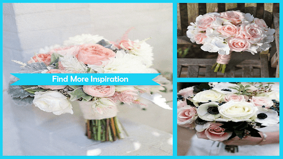 Blush Pink Flowers Wedding - náhled