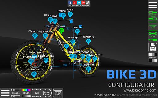 Bike 3D Configurator 1.6.8 screenshots 9