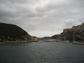 Photo: Bonifacio girişi.  Entering Bonifacio.