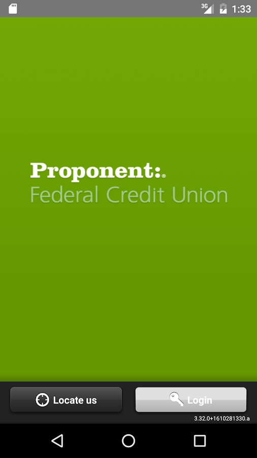 Proponent Federal Credit Union- screenshot