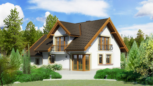 projekt Dom przy Cyprysowej 15 D