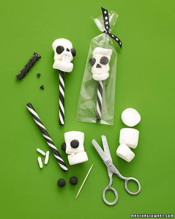 Martha Stewart's Skull Pops