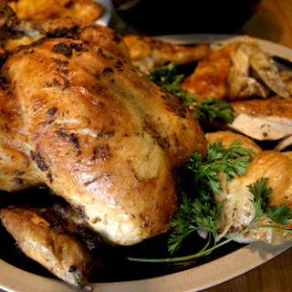 Spiced Garlic and Lemon Roasted Chicken(s)