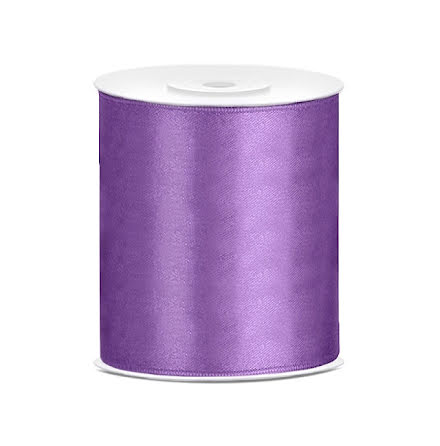 Satinband - Lavendel 100 mm