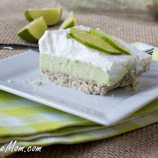 Sugar-Free Key Lime Pie Bars