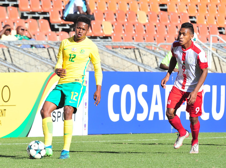 Bafana Bafana's Portugal based striker Luther Singh is accused of adopting a casual approach when he took a penalty during the Cosafa Cup quarterfinal match between South Africa and Madagascar at Peter Mokaba Stadium, Polokwane on June 3 2018.