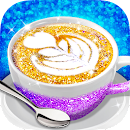 Glitter Coffee - Make The Most Trendy Food file APK Free for PC, smart TV Download
