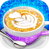 Glitter Coffee - Make The Most Trendy Food
