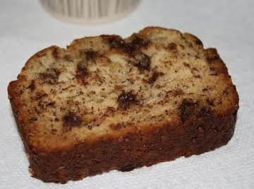 Elizabeth's Quick Chocolate Chip Banana Bread