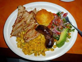 Photo: Dinner at Rumipamba: Plato típico
