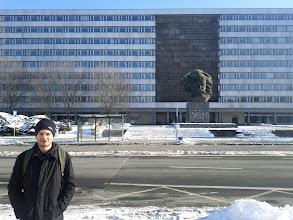 Photo: Karl Marx Statue in ehemal. Karl Marx Stadt