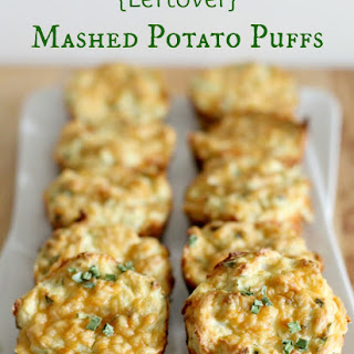 {Leftover} Mashed Potato Puffs.