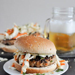 Thai Turkey Burgers.