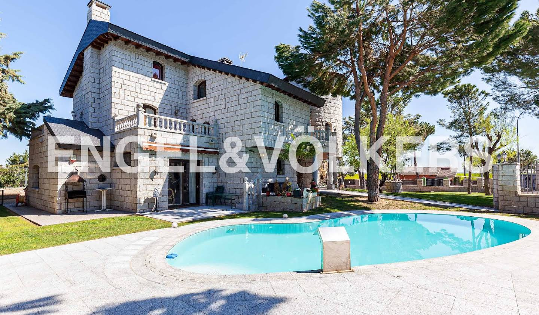 Maison avec piscine et terrasse San Sebastián de los Reyes