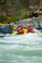 Photo: Group of people rafting down the South Fork of the American River. Coloma, CA