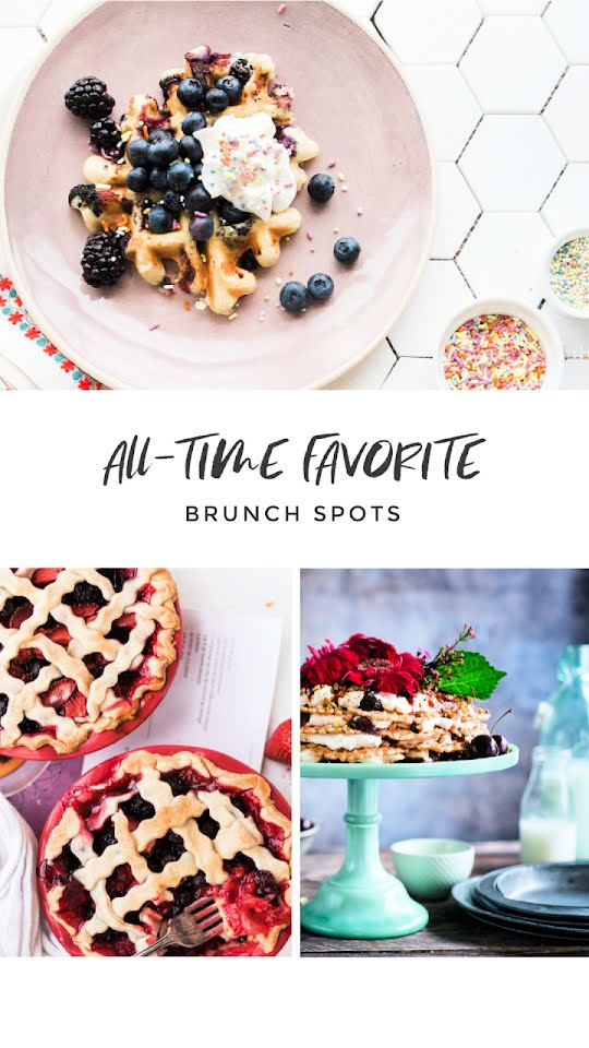 Favorite Brunch Spots - Facebook Story Template