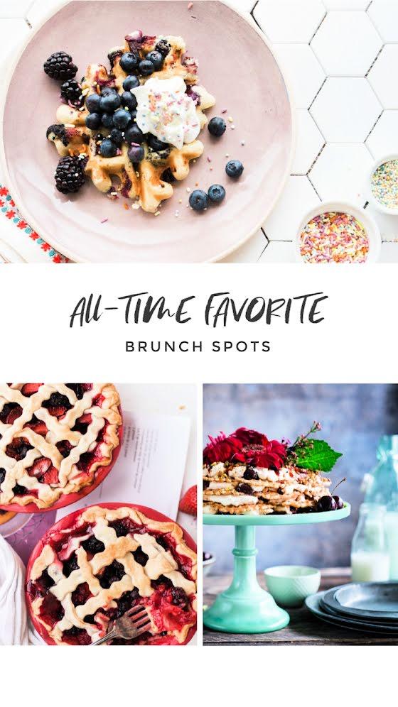Favorite Brunch Spots - Facebook Story Template
