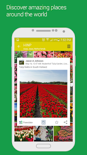 HINP: social networks on a map- screenshot thumbnail