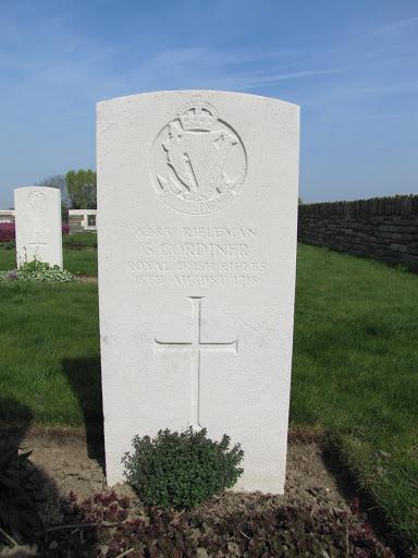 Samuel  Cordner grave