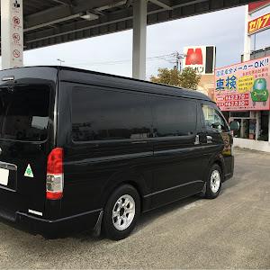 ハイエースバン TRH216K 2009年式 GL 2.7ガソリン4WDのカスタム事例画像 macchina84 さんの2018年09月25日22:54の投稿