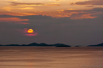 Photo: Zachód słońca w Dalmacji