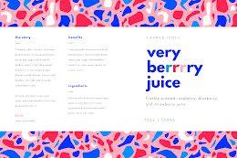 Very Berry Juice - Label item