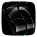 Black Glassy Window icon