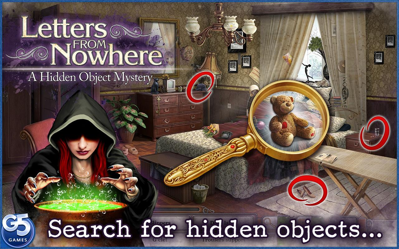 Letters From Nowhere®: Mystery screenshot #7