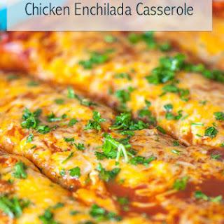 Chicken Enchilada Casserole Flour Tortillas Recipes.