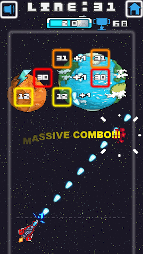 Space Blast Block Attack android2mod screenshots 3
