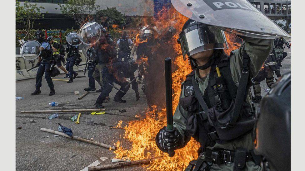 Протести Гонконг