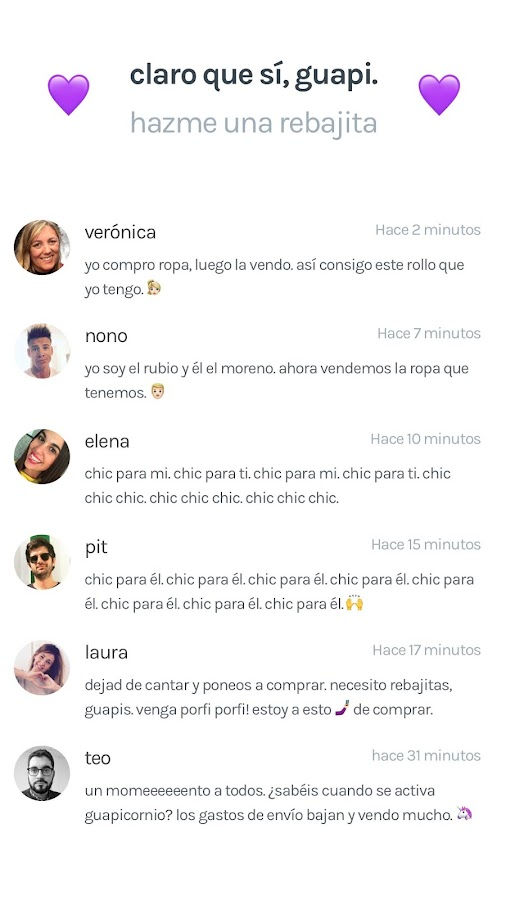chicfy - compra y vende moda.- screenshot