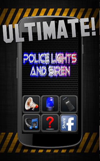 Police Lights Siren Ultimate