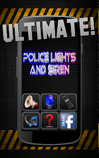 Police Lights & Siren Ultimate Screenshot