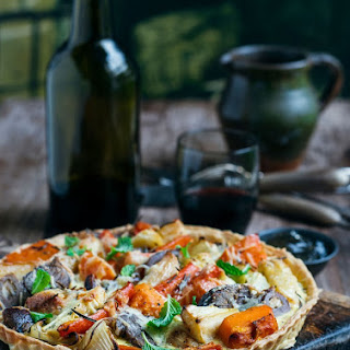 Roast Lamb Dinner Leftovers Tart