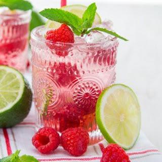 Raspberry Rum Limeade
