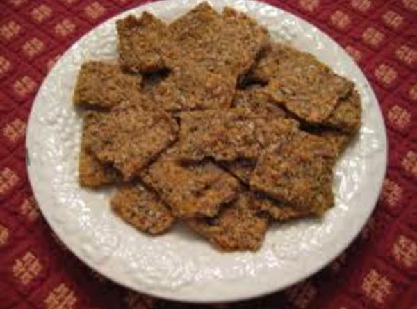 Sesame, Sunflower And Flax Crackers Recipe