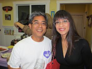 Photo: With Peter Higa.