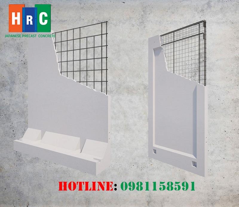 Tấm tường, tường rào bê tông đúc sẵn - 2 sản phẩm chủ lực của HRC Việt Nam