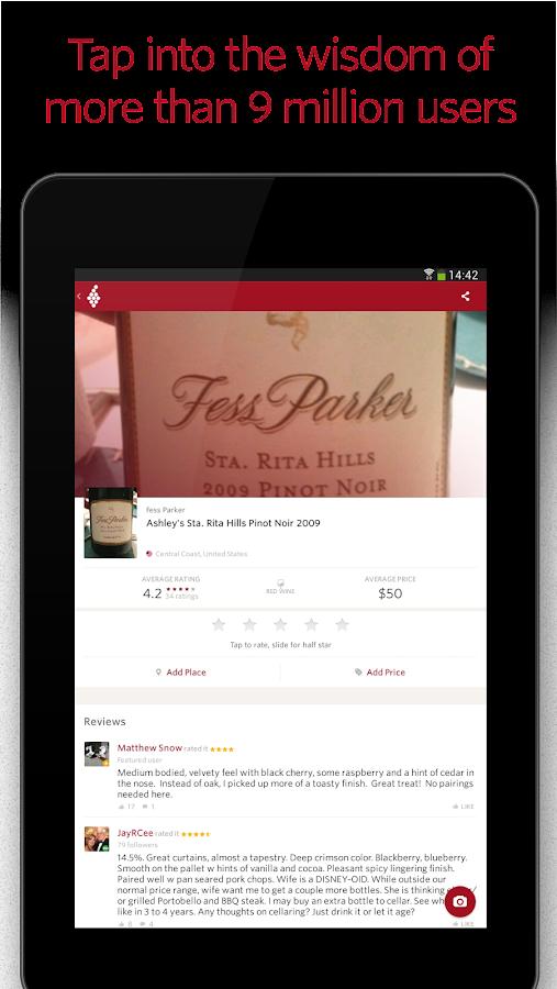 Vivino Wine Scanner - screenshot