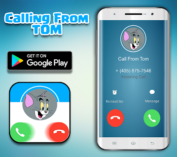 Call From Tom Cat - Fake Call - náhled